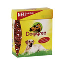 Cardboard packaging for easy dispensing of dog food