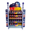 End-cap display with fair-like ambience for Cadbury's Dairy Milk from Mondelez