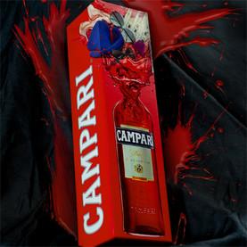 Folding box for Campari