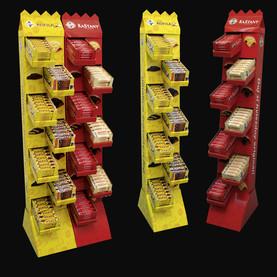 Floor standing display unit