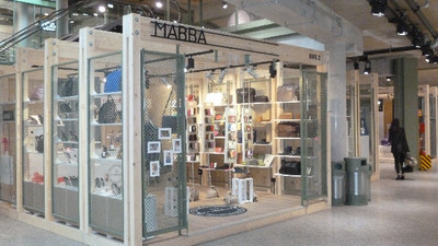 Creative retail space: Bikini Berlin pop-up store