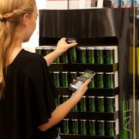 Pallett display for beverages