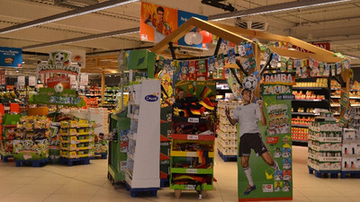 Pop-up stores: seasonal themes are an integral part of store layout for many retailers