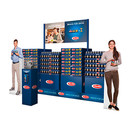 Flexible Barilla football display