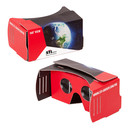 Corrugated board VR glasses as cost effective marketing tool