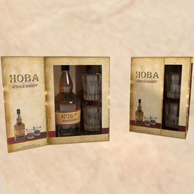 On-pack promotion for whisky