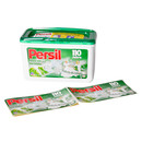Self adhesive label for product presentation of Persil limited edition