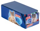 Product presentation of pet food in discount stores