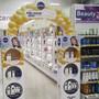 POS decoration for Unilever Q10 provides shopper´s attention