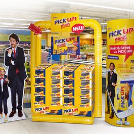 Promotional display for Bahlsen