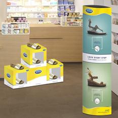 POS decoration for pharmacies