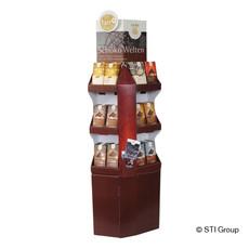Display unit for chocolates