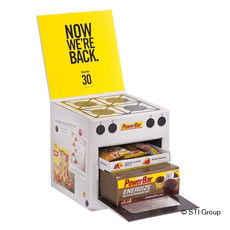 PowerBar's promotional packaging