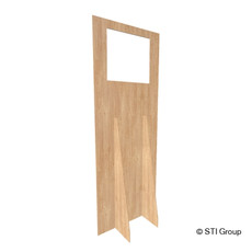 Plywood Standing screen