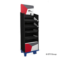 Boomer pos display: modular, cost-effective, stable and short production lead time