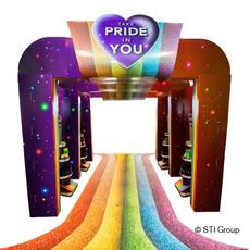 Unilever Pride POS campaign