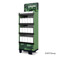 Eco shelf click display