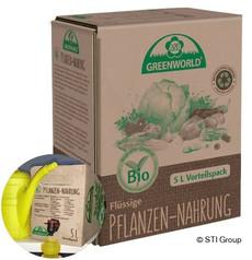Bio-Flüssigdünger perfekt verpackt