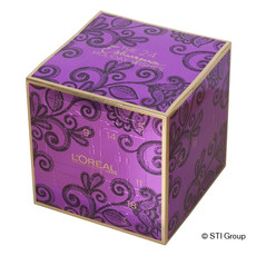 Carton folding box as gift packaging