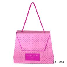 Bag in box shaped like a handbag